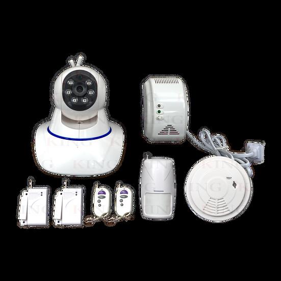 Sistema de alarma con Camara IP