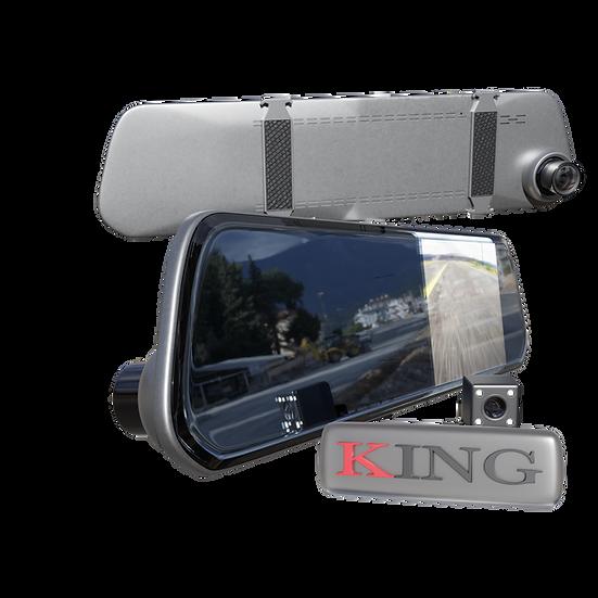 Espejo DVR con cámara de retro