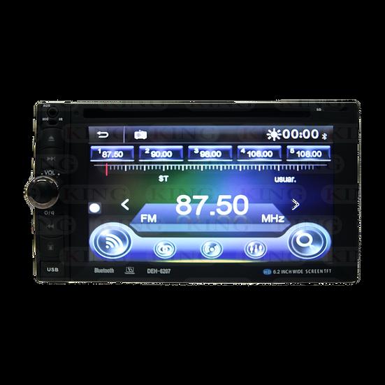 Radio 2DIN con DVD 6.2 Pulgadas