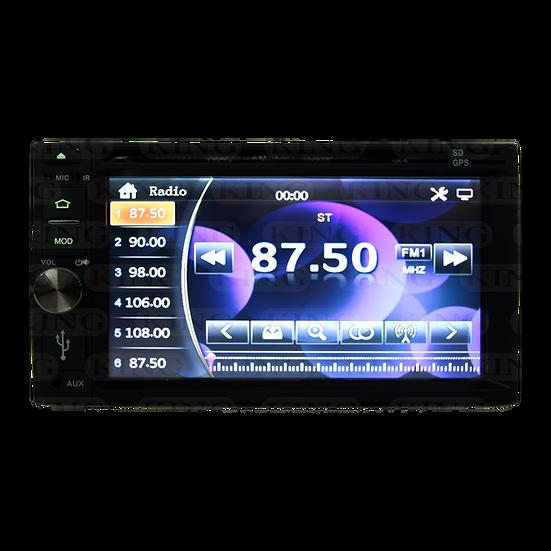 Radio 2DIN con GPS y DVD