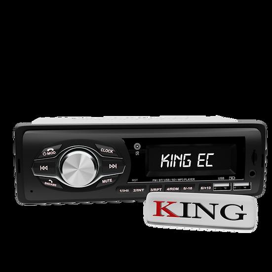 Radio 1DIN MP3 con Bluetooth