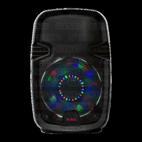 Caja Amplificada Recargable 10 Pulgadas con Micrófono Inalámbrico