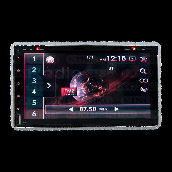 Radio 2DIN con DVD KING Full Touch 6.9 Pulgadas