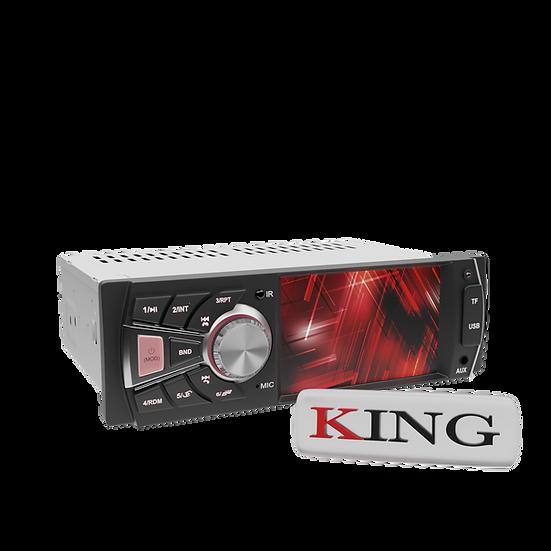 Radio 1DIN KING con Pantalla 4 Pulgadas