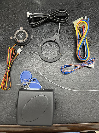 Boton de encendido para carro con sensor de proximidad