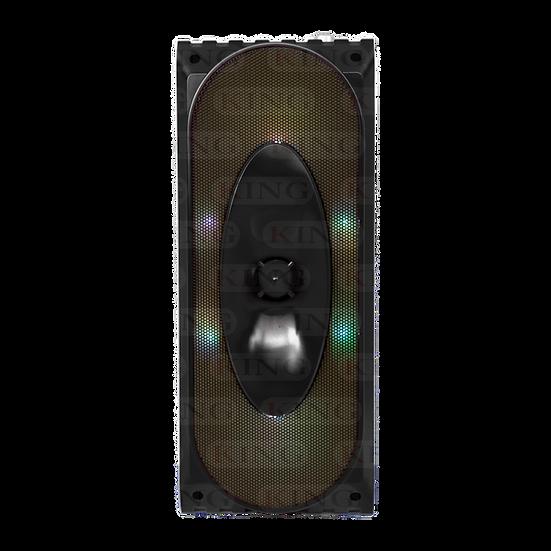 Caja Amplificada Recargable Doble 4 Pulgadas