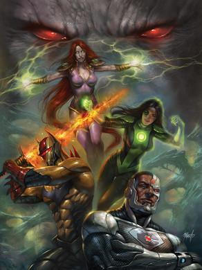 Justice League Odyssey #9