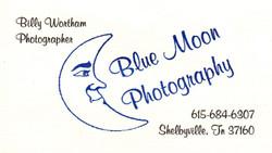 Blue Moon Buisness Card