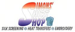Simons' Shirt Shop Logo