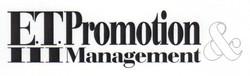 E.T. Promotion Logo