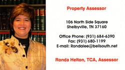 Ronda Helton Business Card