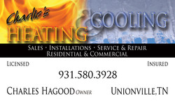 Charlie's Heating & Cooling Business