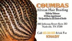 Coumbas Business Card