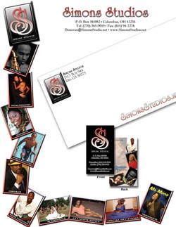 Simons Studios Branding