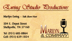 Ewing Studio Business Card