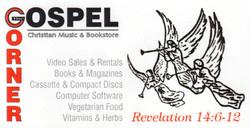 The Gospel Corner Business Card