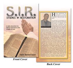 S.I.R. Book Cover