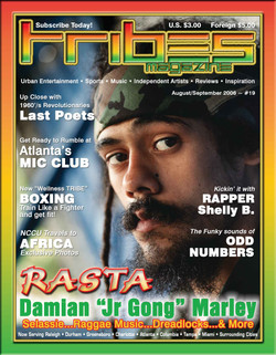 Tribes Magazine Cover