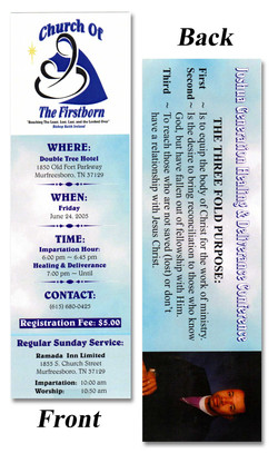 Church of the Firstborn Bookmark
