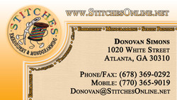 Stitches Business Card