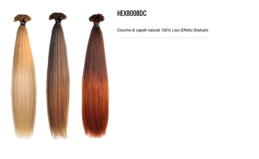 Mèches de cheveux naturels à 100% hétérosexuel (Effet Shatush)