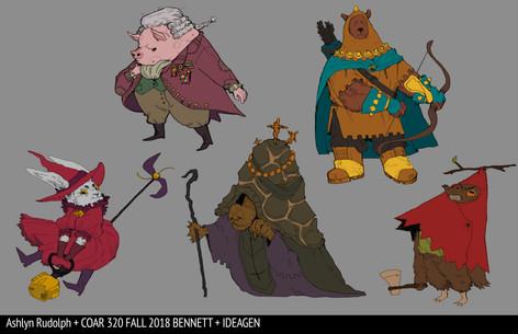 Colorflats Character Design 2
