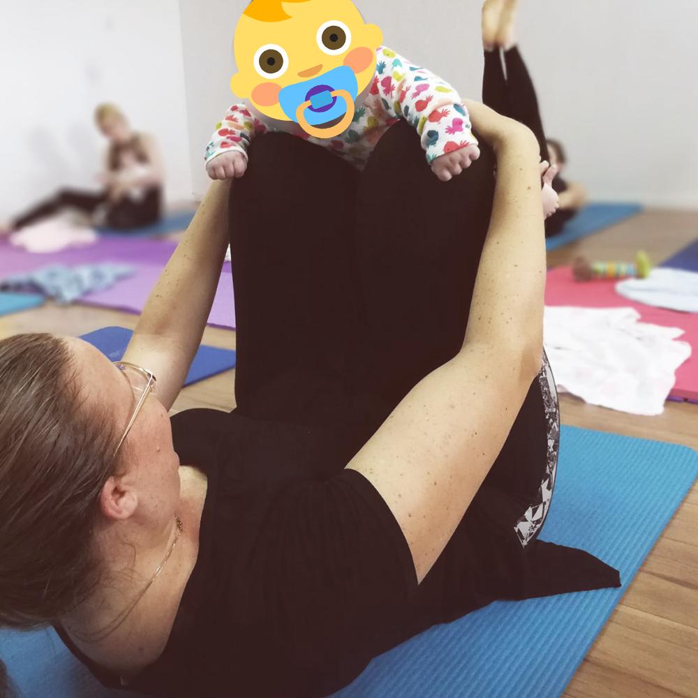 פילאטיס עם תינוקות - יעל ישראל