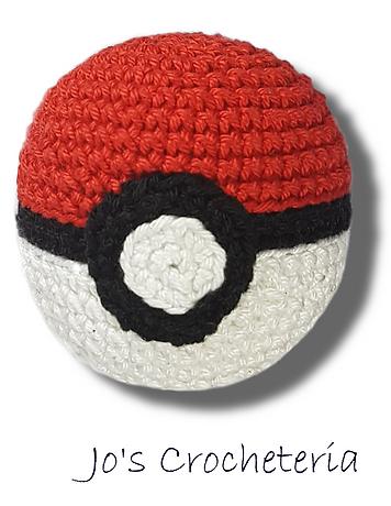 Jos Crocheteria Free Pokeball Crochet Pattern