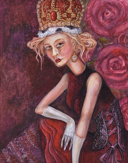 Tired queen