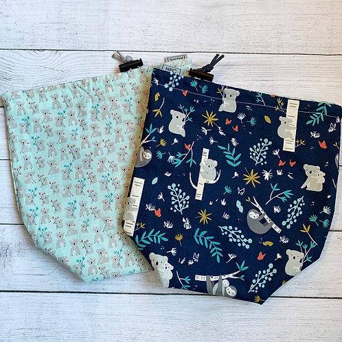 Koala and Sloth Drawstring Bag