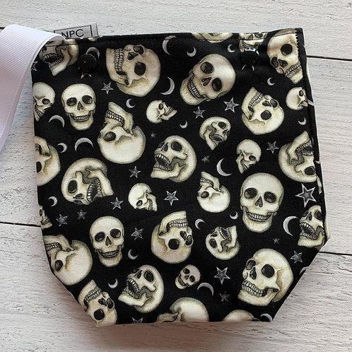 Skulls Snap Sack