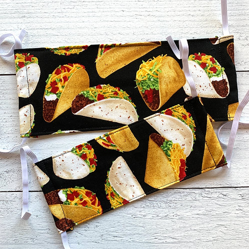 Tacos Fabric Mask Size S