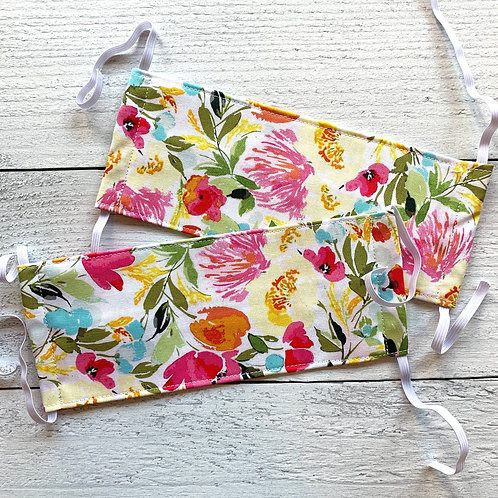 Spring Florals Fabric Mask