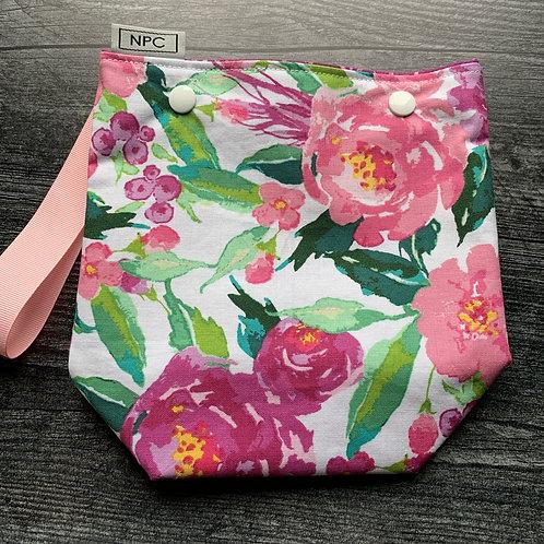 Spring Floral Snap Sack