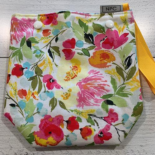 Impressionist Flowers Snap Sack