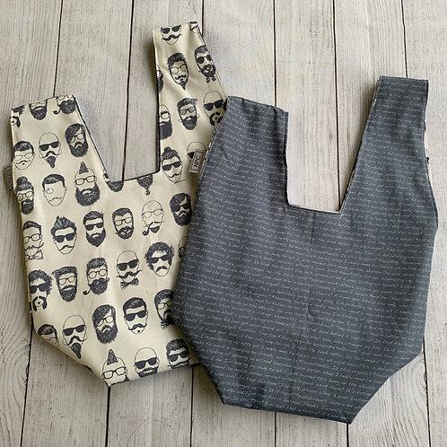 Hipster Dudes Knot Bag