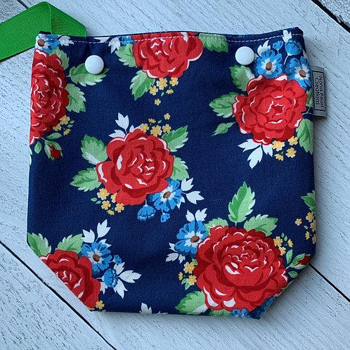 Roses Snap Sack