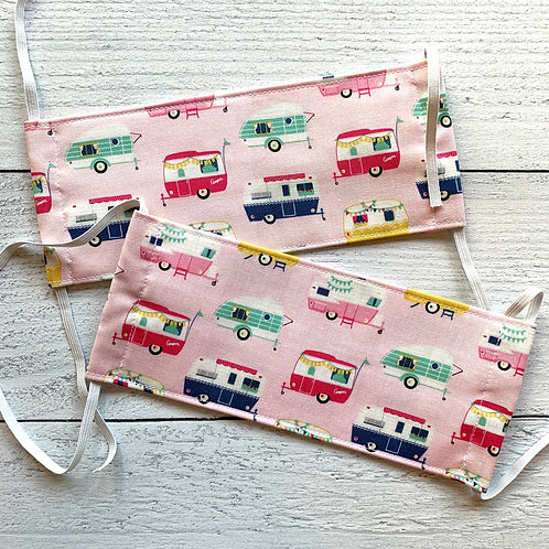 Pink RV Fabric Mask Size S