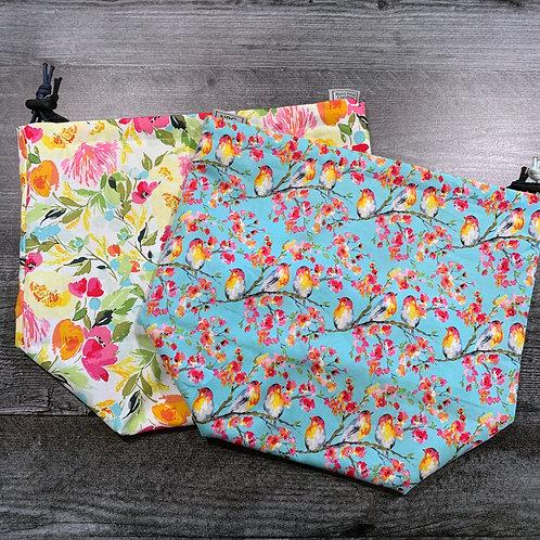 Impressionist Spring Drawstring Bag