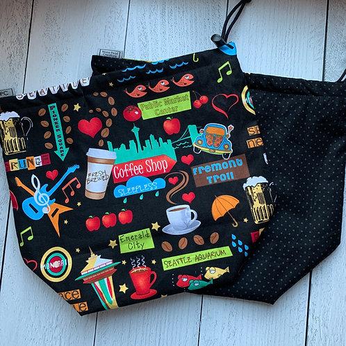 Seattle Drawstring Bag