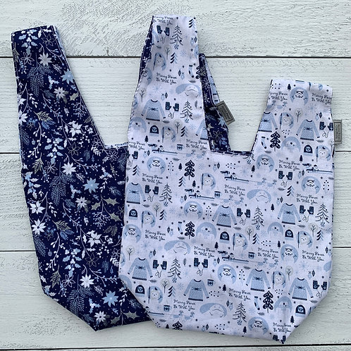 Galactic Holiday Knot Bag