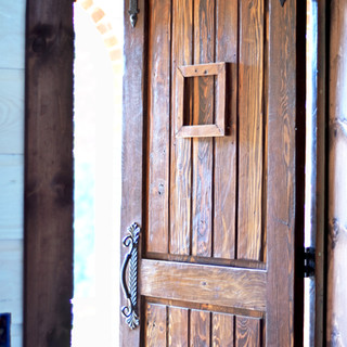 Custom Castle Doors