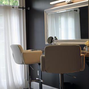 Hair & Make up Room