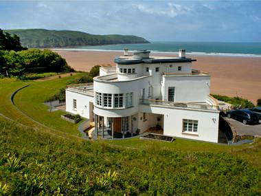 Cornwall Beach House-Exterior
