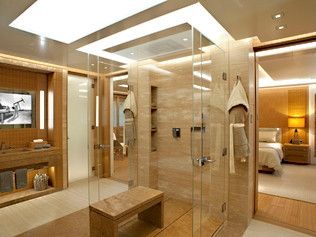 73 Meter Superyacht- Master Bathroom