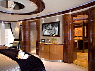 65 Meter Superyacht- Master Bedroom