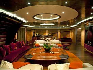 Observation Deck 96 Meter Super Yacht