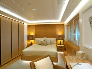 Guest Bedroom 74 Meter Super Yacht