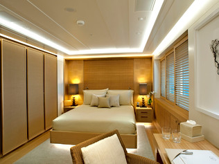 73 Meter Superyacht- Guest Bedroom