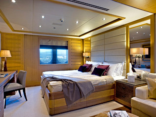 90 Meter Superyacht- VIP Bedroom